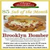 3 Brothers Pizza $5 Sub of the Month  Image
