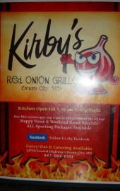 Kirby's Red Onion Grill