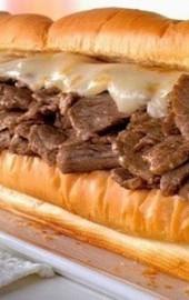 Mp's Philly Cheesesteak-Steak, Crab Cake & Pizza
