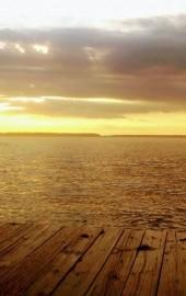The Landing at Sunset Island