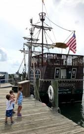 The Duckaneer Pirate Ship